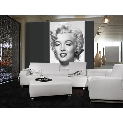 Ideal Decor Marilyn Monroe Wall Mural Wayfair