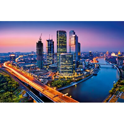 Ideal Decor Moscow Twilight Wall Mural