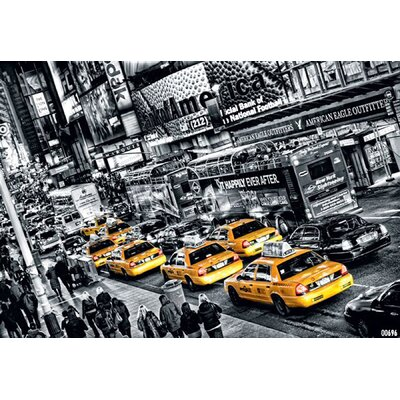 Ideal Decor Cabs Queue Wall Mural