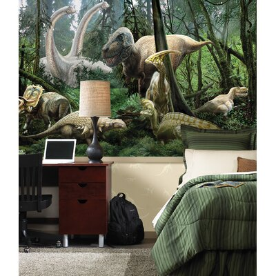 Brewster Home Fashions National Geographic Dinosaurs Wall Mural
