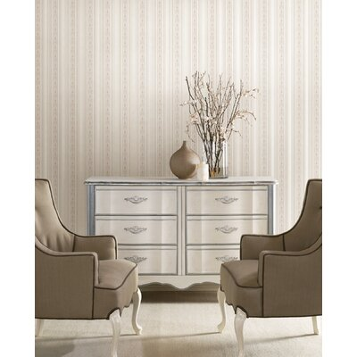 Brewster Home Fashions Juliette Baptista Stripe Wallpaper