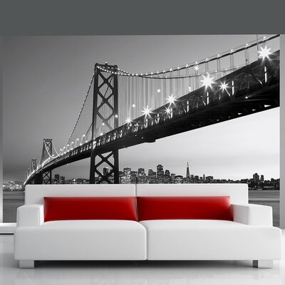 Ideal Décor San Francisco Skyline Wall Mural