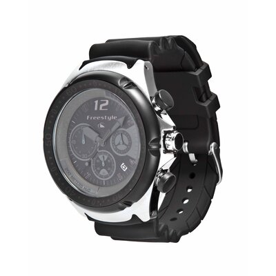 Freestyle Active Hammerhead XL Watch in Black / Black