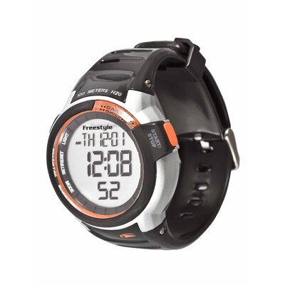 Freestyle Performance Mariner Watch in Black / Orange