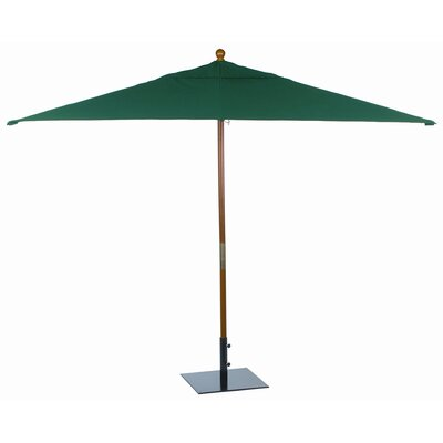 10' Sunbrella Rectangular Market Umbrella