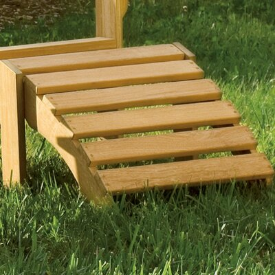 Oxford Garden Adirondack Chair and Footstool Set