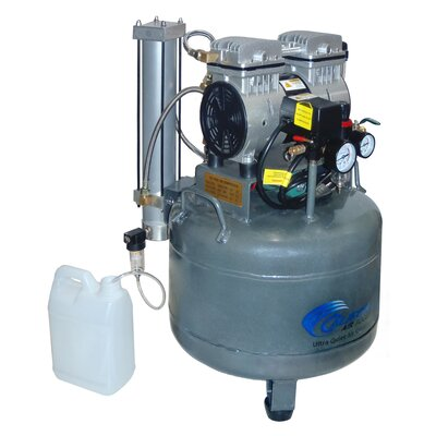 California Air Tools 9 Gallon 1.0 Hp Ultra Quiet and Oil-Free Air Compressor with Dryer and Aftercooler