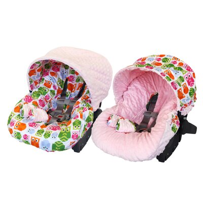 Baby Ritzy Rider Infant Hoot Car Seat Cover