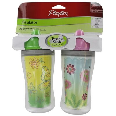 Playtex 2 Count 9 Oz The Insulator™ Spill-Proof Cup