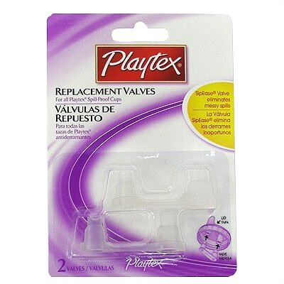 Playtex Spill-Proof Replacement Valves 2-Pack