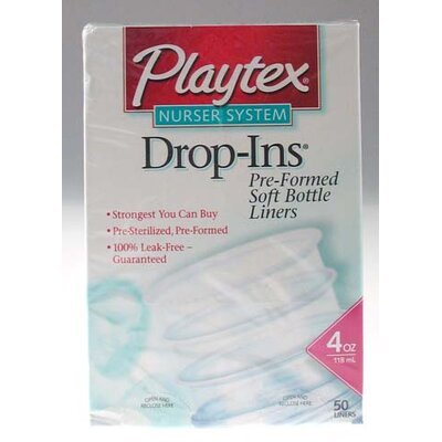 Playtex Drop-Ins Pre-Formed Soft Bottle Liners