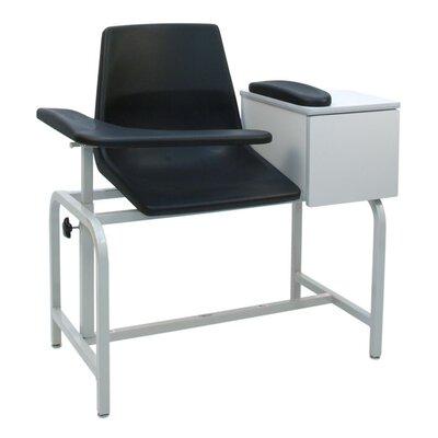 Economical Phlebotomy Chair with Storage Drawer