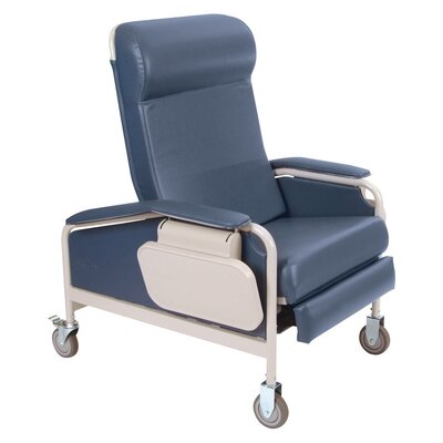 Winco Manufacturing Three Position Extra Large Convalescent Recliner