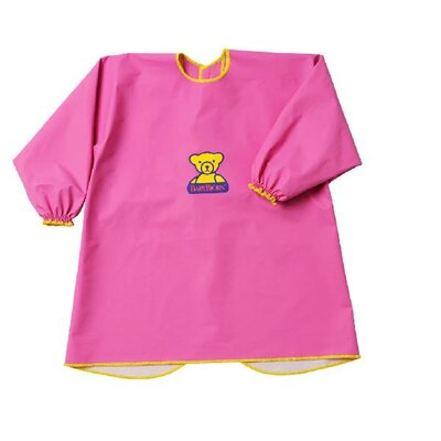 BabyBjorn Eat and Play Smock in Pink