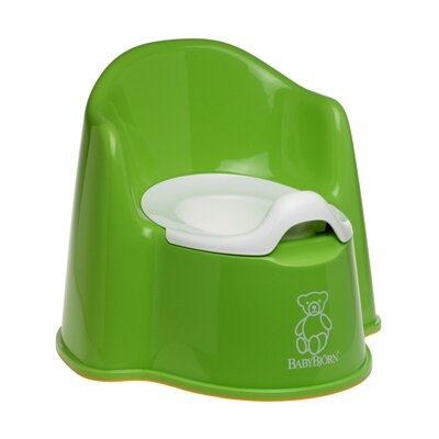 BabyBjorn Potty Chair in Green
