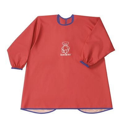BabyBjorn Eat and Play Smock in Red