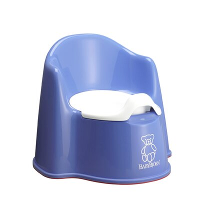 BabyBjorn Potty Chair in Blue