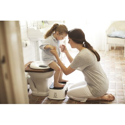 BabyBjorn Toilet Trainer in White / Black