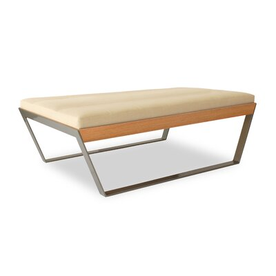 Elemental Living Sylis Leather Bench