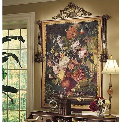 Tapestries, Ltd. Flemish Bouquet Tapestry