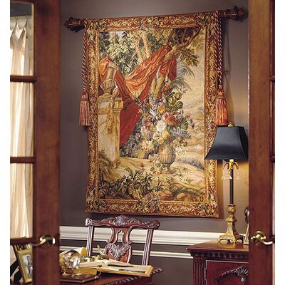 Tapestries, Ltd. Draped Bouquet Tapestry