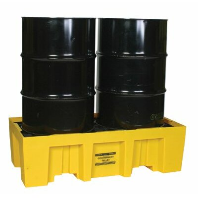 Eagle Spill Containment Pallets - 2 drum containment pallet