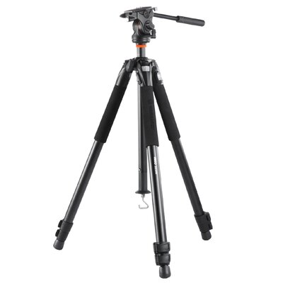 Vanguard USA Abeo 323AV Aluminum Tripod w/ PH-114V Video Head