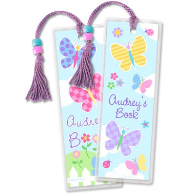 Olive Kids Butterfly Garden Personalized Bookmark