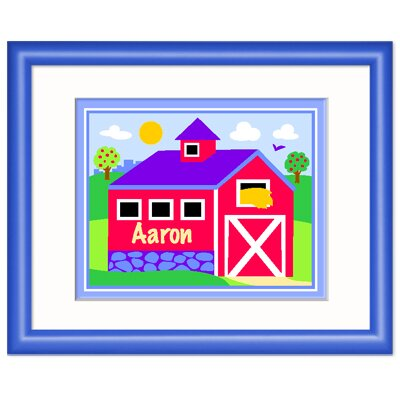 Olive Kids Country Farm Personalized Framed Print
