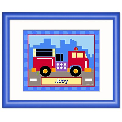 Truck Personalized Framed Print