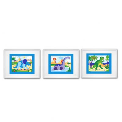 Olive Kids Dinosaur Land Print (Set of 3)