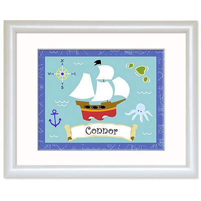 Olive Kids Pirates Personalized Print
