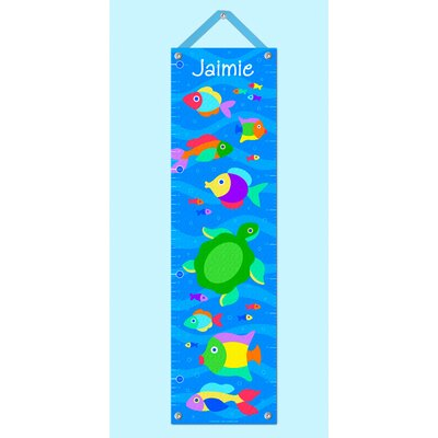 Something Fishy Personalized Growth Chart