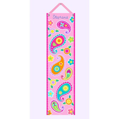 Paisley Dreams Personalized Growth Chart