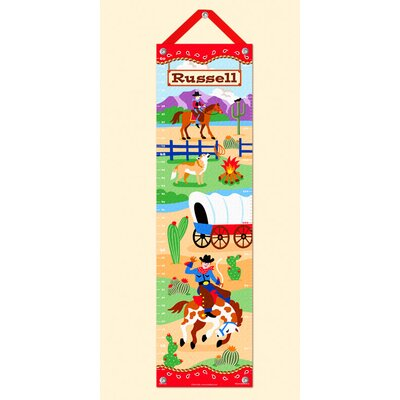 Ride 'em Personalized Growth Chart