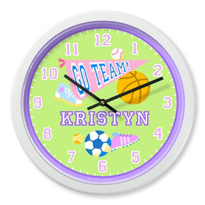 Olive Kids Girls Game On Personalized Clock