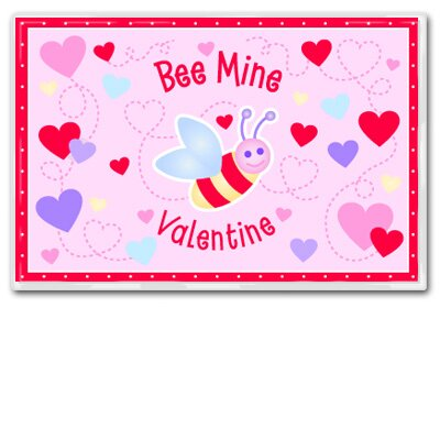 Olive Kids Bee Mine Personalized Placemat