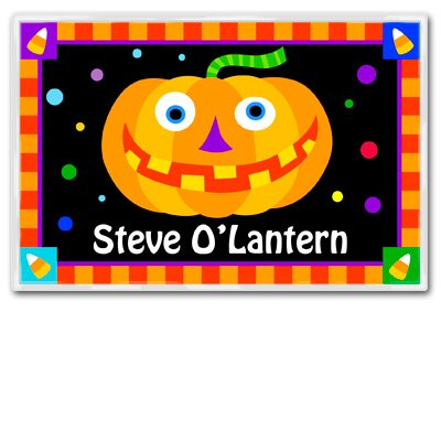 Halloween O'Lantern Personalized Placemat