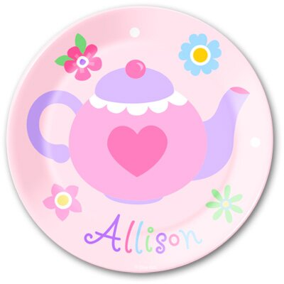 Olive Kids Tea Party Personalized Kids Plate