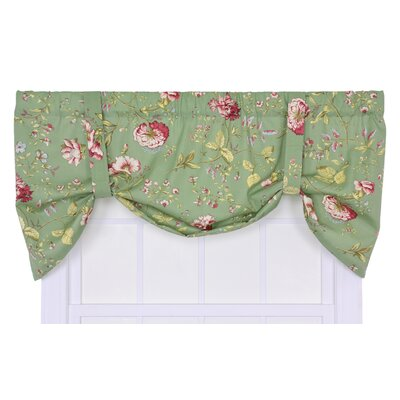 Ellis Curtain Coventry Cotton Blend Rod Pocket Tie-Up Tier Curtain