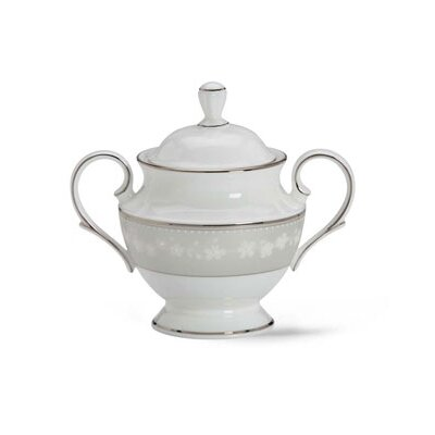 Lenox Bellina Sugar Bowl with Lid