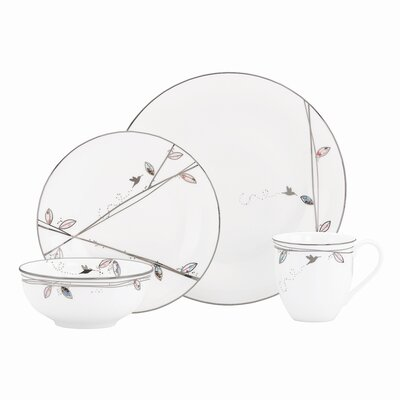 Lenox Silver Song Dinnerware Collection