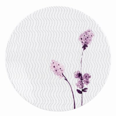 Lenox Watercolor Amethyst Dinner Plate