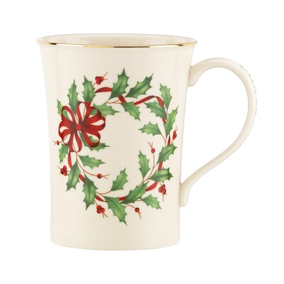 Lenox Holiday Deck The Halls Mug