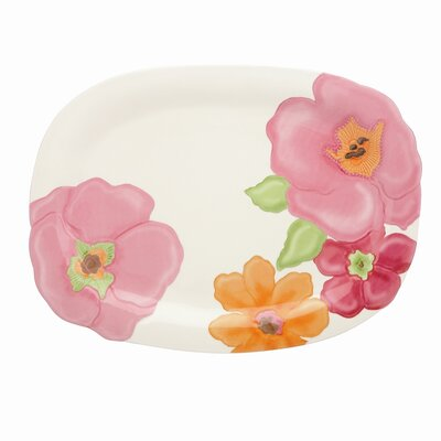 Lenox Floral Fusion Oval Serving Tray