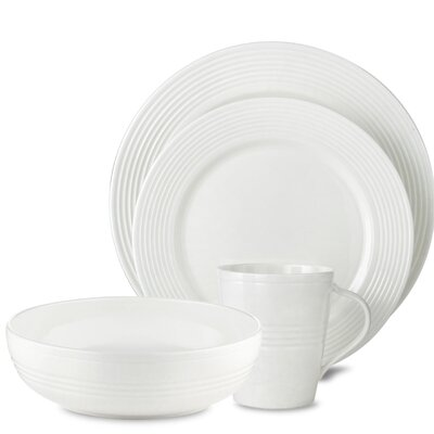 Tin Can Alley Seven Degree 4 Piece Place Setting