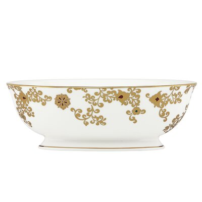 "Lenox Floral Majesty Vegetable 9.5"" Serving Bowl"
