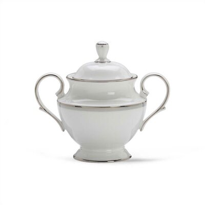 Lenox Columbus Circle Sugar Bowl with Lid