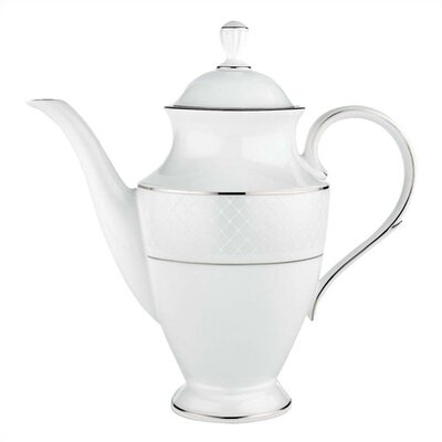 Lenox Venetian Lace Coffeepot with Lid