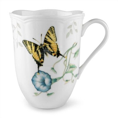 Lenox Butterfly Meadow Tiger Swallowtail 12 oz. Mug